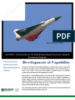 Religare Strategic Advisory Commentary - Aircraft Procurement - April 2010