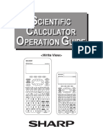 Scientific Calculator Operation Guide