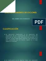 Dimensionamiento de Ciclones