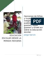 La visión y experiencia de los indígenas sobre la escuela.doc