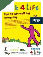 C4L W4L Walking Tips Everyday