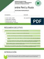 TLC Entre Perú y Rusia