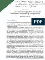 Cortes - El Empleo Urbano Argentino en Los 80