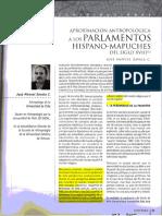 Zabala Cepeda Los parlamentos hispano mapuches como espacios de mediacion