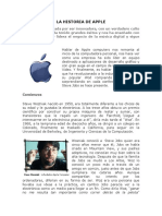La Historia de Apple