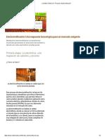 CODELCO proceso de refinacion del cobre