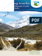Walking and Cycling Tracks in Aoraki Mt Cook