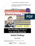 The Profiling Project Seth Rich Report