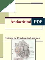 Farmacologia Clase 18 Antiarritmicos uss