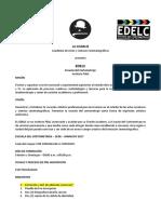 EDELC Fundamentos y Requisitos 2017 Actualización 01