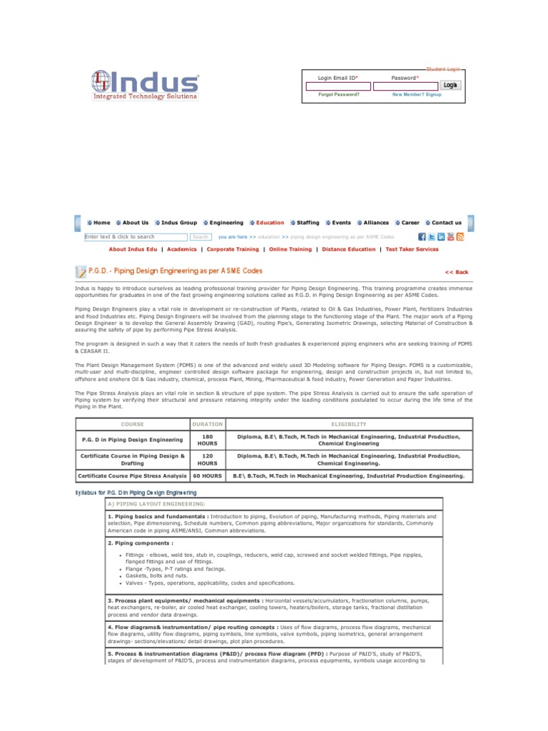 Indus Group Pipe Fluid Conveyance Mechanical Engineering Welding Process Flow Diagram
