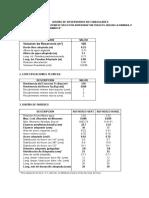 Diseño Reservorios Rectangulares 120 M3