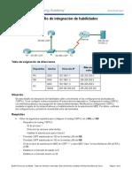 5.3.1.2 Packet Tracer - Skills Integration Challenge Instructions