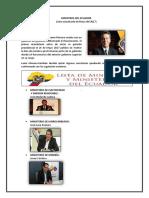 Ministros Del Ecuador