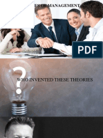 x y & z Theories of Management