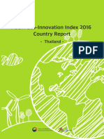 ASEM Eco-Innovation Index 2016 Country Report - Thailand