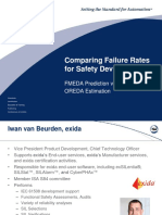 Comparing Falure Rates FMEDA Prediction vs OREDA Estimation (4)