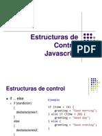 Clase 6. Estructura de Control - Javascript
