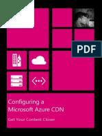 Configuring CDN