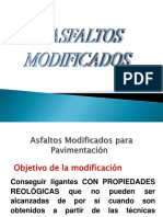 Asfaltos Modificados
