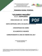 Informe de Febrero 2017
