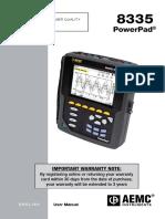 AEMC 8335 Manual