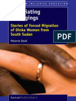 (Studies in Inclusive Education) Melanie Baak (Auth.)-Negotiating Belongings_ Stories of Forced Migration of Dinka Women From South Sudan-SensePublishers (2016) (2)