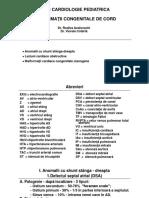 Curs Cardiologie Pediatrica