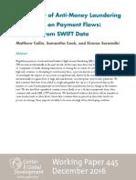 Impact Anti Money Laundering SWIFT Data