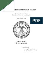 STATE CHARTER SCHOOL BOARD