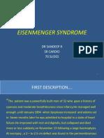 Dr Sandeep -EISENMENGER SYNDROME.pptx