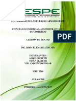 Informe Ejecutivo de Ventas Humana s.a.