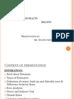 Estimation, Contracts & Billing