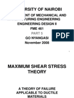 5-Maximum Shear Stress Theory-Derivation