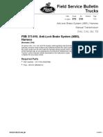 Anti-Lock Brake System (ABS), Harness, Manual Transmission, CHU, CXU, GU, TD