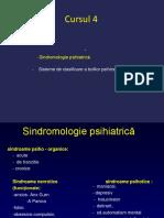 Cursul 4 Sindromologie Sisteme de Clasificare