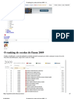 O Ranking de Escolas Do Enem 2009 - Campinas