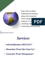 Metals Remediation