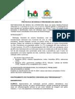 Protocolo de Nódulo Tireoidiano No Adulto 07 de Agosto2