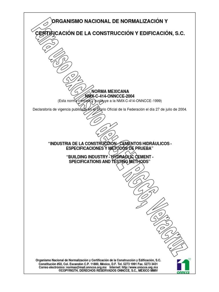 nmx-c-414-onncce