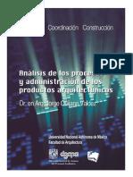 Analisis de Procesos y Administracion de Los Arquitectonicos_3 Tomos