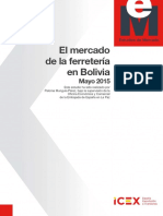 Estudio Ferreteria Bolivia