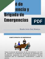 Comité de Emergencia y Brigada de Emergencias