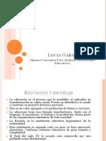 Lucia Garay Algunos Conceptos para Analizar Instituciones Educativas