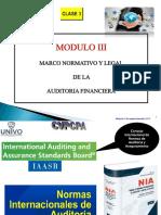 Clase 3 y 4 Modulo III Marco Normativo Af Univo May Jun 2017[3113]