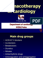 Pharmacotherapy in cardiology praha.ppt