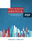 Under-Vacationed America Report