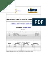 Coordinación de Protecciones de Generadores y Celdas Ferrenergy 5011-00-EL-RP-002