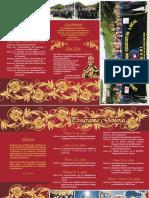 Programa de Aniversario de la UGELHuari