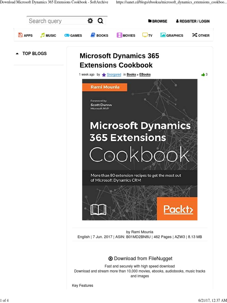 Microsoft dynamics 365 extensions cookbook 3 customer microsoft dynamics 365 extensions cookbook 3 customer relationship management microsoft baditri Gallery
